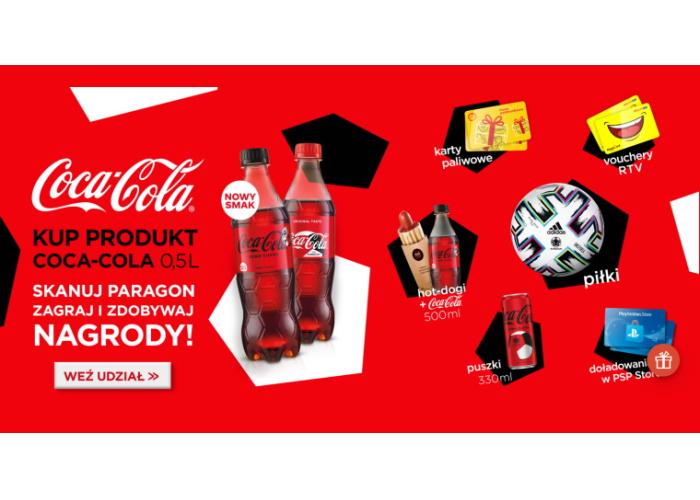 Konkurs Coca-Cola - Skanuj-wygrywaj!