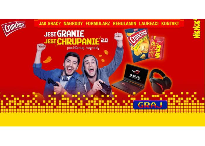 Loteria promocyjna marki Crunchips oraz NicNac's w Intermarche
