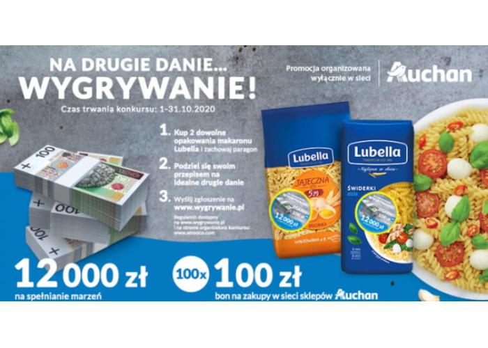 Konkurs Lubella w Auchan