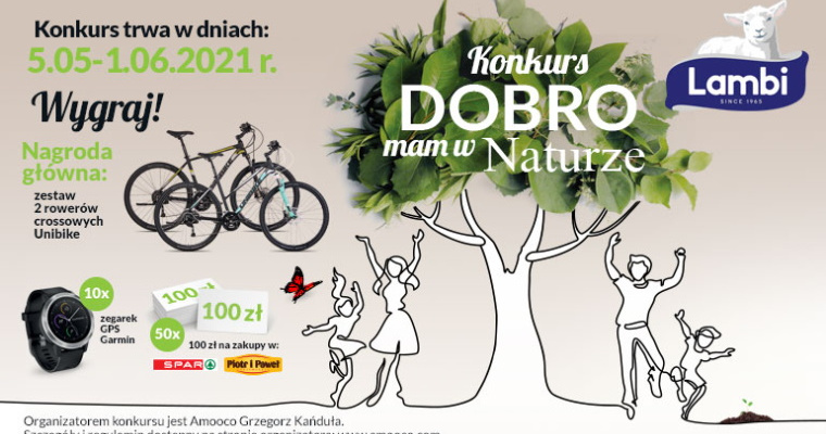 Konkurs marki Lambi - Dobro mam w naturze