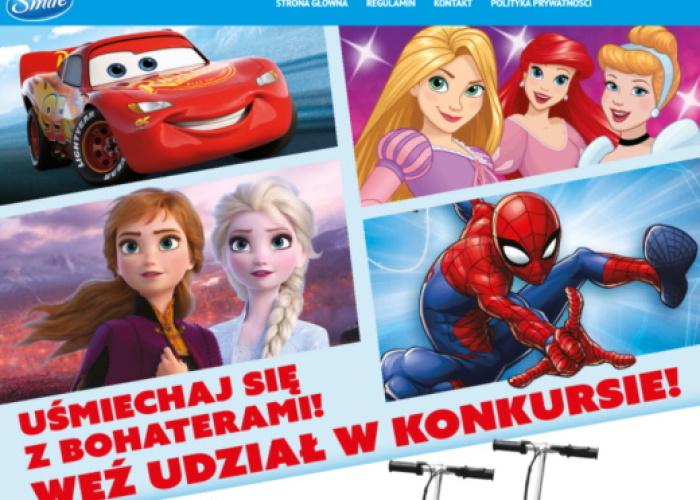 Konkurs z ulubionymi bohaterami Disneya i Marvela