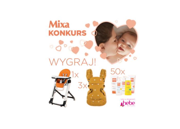 Promocja MIXA w sieci HEBE