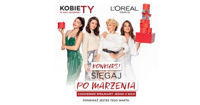 Konkurs L'Oréal - Sięgaj po marzenia!