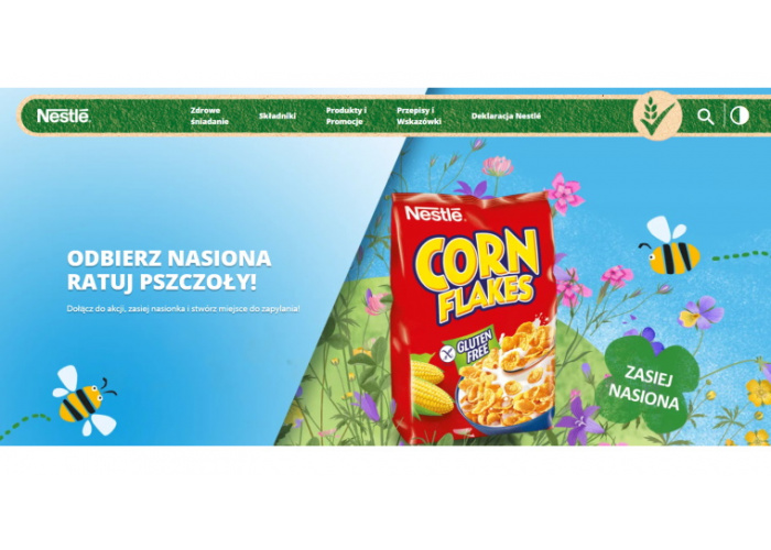 Akcja Nestlé – Ratuj Pszczoły!
