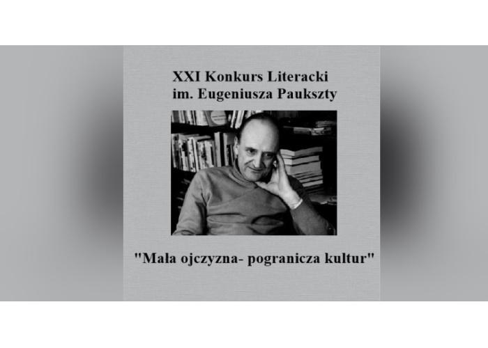 Konkurs Literacki im. Eugeniusza Paukszty