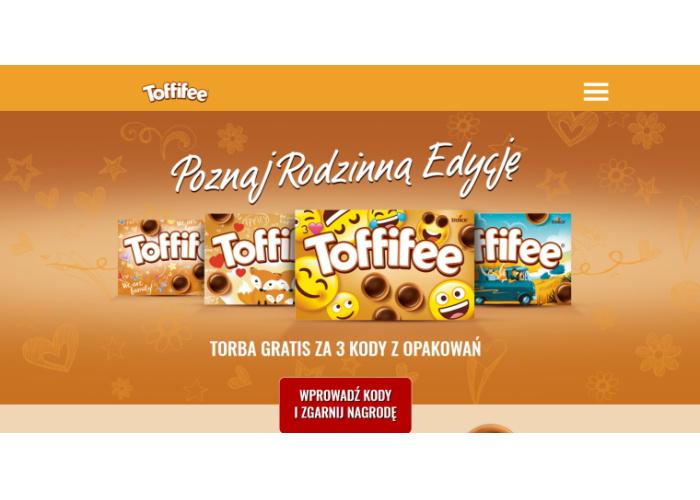 Rodzinna promocja marki Toffifee