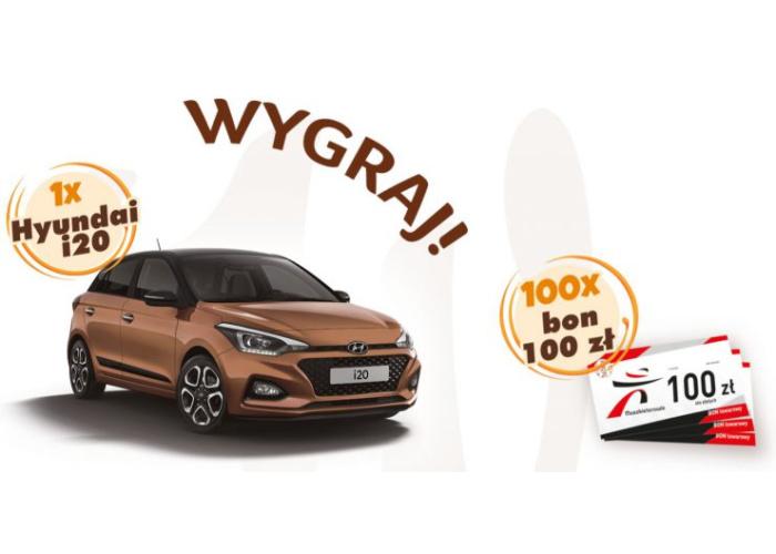 Nagroda główna: samochód Hyundai i20