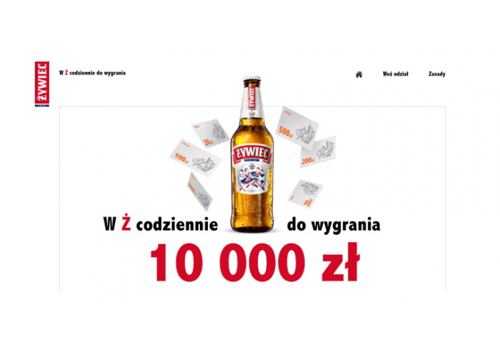 Loteria marki Żywiec