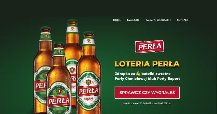 Loteria - Perła 2021