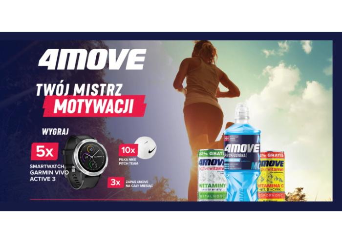 Konkurs 4MOVE w sieci Biedronka