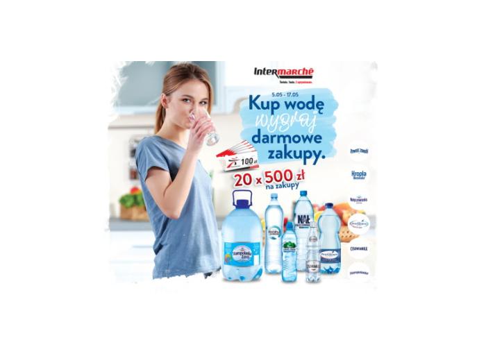 Konkurs w Intermarche - Dlaczego warto pić wodę?